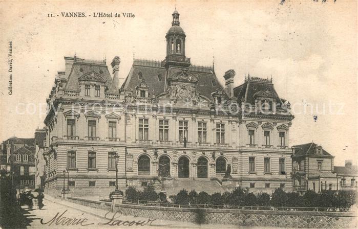 Vannes Hotel de Ville Vannes 0