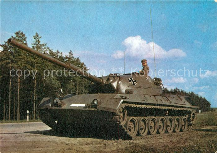 AK / Ansichtskarte Militaria_Panzer Standardpanzer Deutsche Bundeswehr  Militaria Panzer