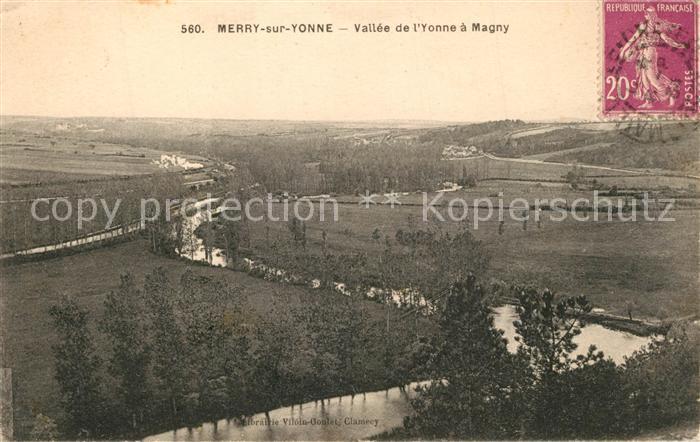 AK / Ansichtskarte Merry sur Yonne Vallee de l'Yonne a Magny Merry sur Yonne