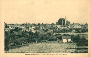 AK / Ansichtskarte Saint Florentin_Yonne Vue generale prise des Provacheroi Saint Florentin Yonne