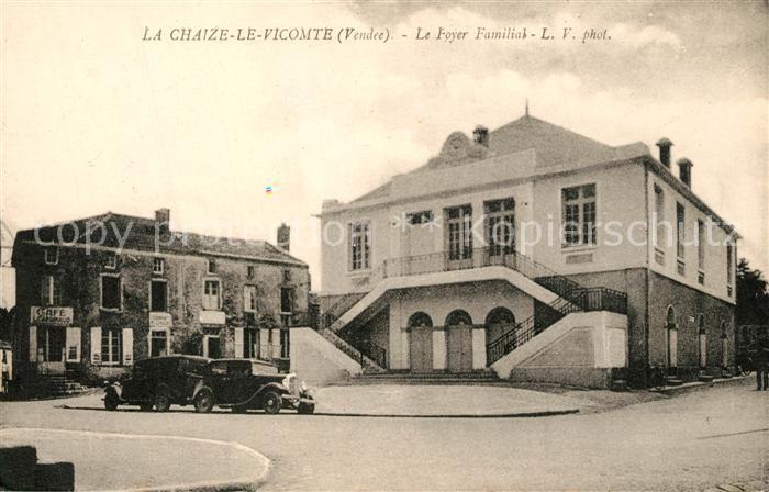 AK / Ansichtskarte La_Chaize le Vicomte Le Foyer Familial La_Chaize le Vicomte