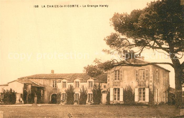 AK / Ansichtskarte La_Chaize le Vicomte La Grange Hardy La_Chaize le Vicomte