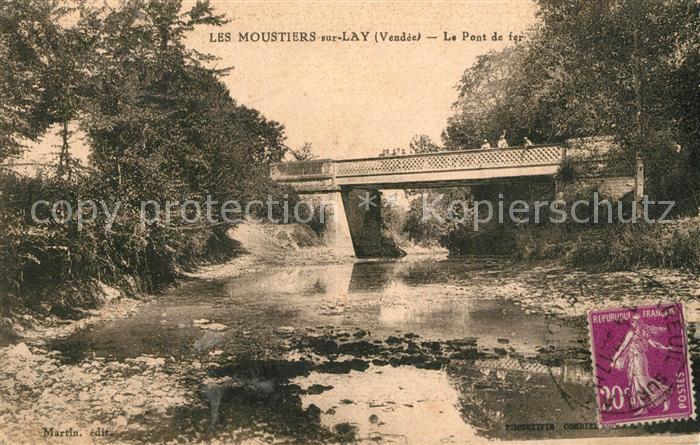 AK / Ansichtskarte Moutiers sur le Lay Le Pont de fer Moutiers sur le Lay