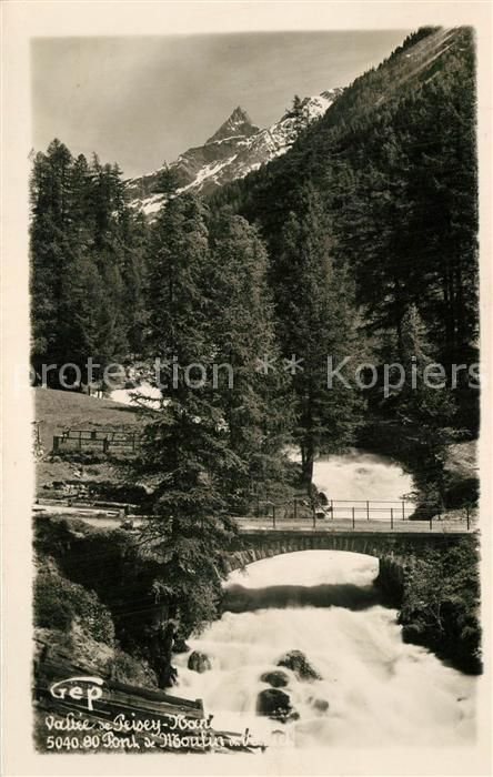 AK / Ansichtskarte Peisey Nancroix Paysage Vallee Pont Alpes Peisey Nancroix