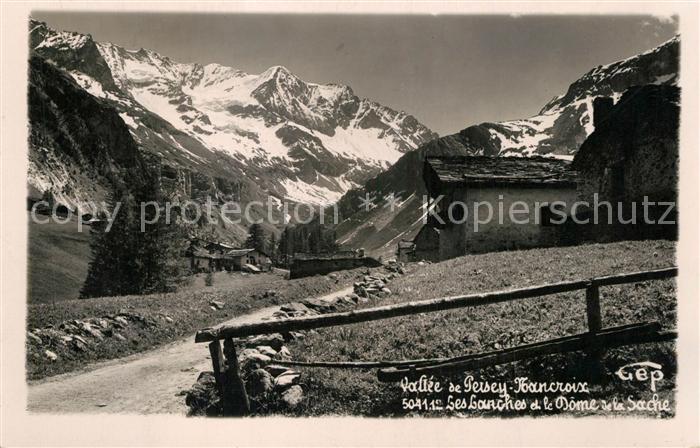 AK / Ansichtskarte Peisey Nancroix Panorama de la vallee Alpes Francaises Peisey Nancroix