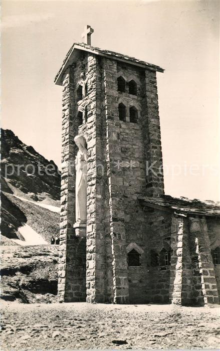 AK / Ansichtskarte Col_de_l_Iseran Chapelle de Notre Dame de la Prudence Alpes Francaises Col_de_l_Iseran