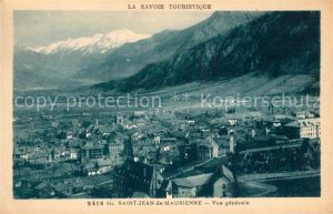 AK / Ansichtskarte Saint Jean de Maurienne Vue generale Alpes Francaises Saint Jean de Maurienne