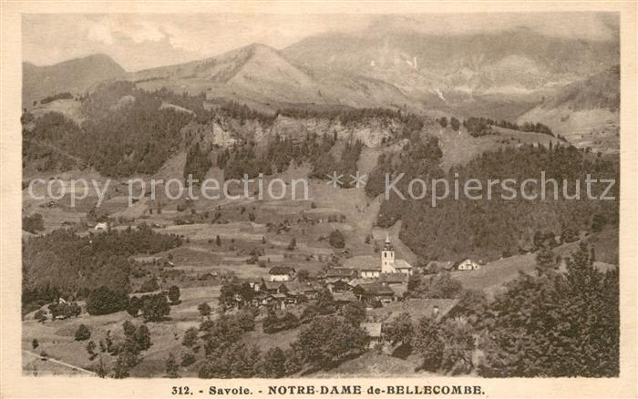 AK / Ansichtskarte Notre Dame de Bellecombe Panorama Alpes Notre Dame de Bellecombe