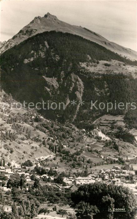 AK / Ansichtskarte Bourg Saint Maurice Panorama Combotier et le Clapey Alpes Bourg Saint Maurice