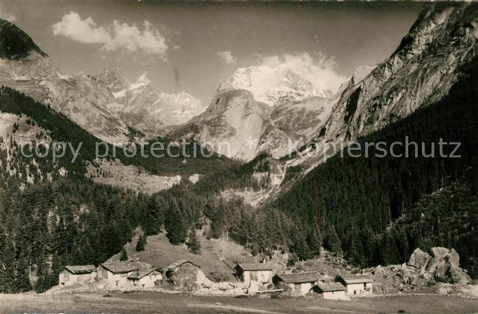 AK / Ansichtskarte Pralognan la Vanoise Village de Cholliere et Massif de la Vanoise Alpes Francaises Pralognan la Vanoise