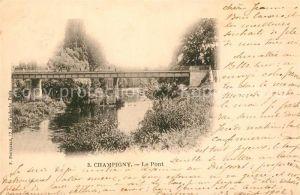 AK / Ansichtskarte Champigny sur Marne Le Pont Champigny sur Marne