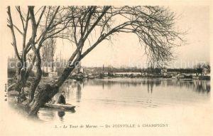 AK / Ansichtskarte Joinville le Pont Le Tour de Marne Joinville le Pont