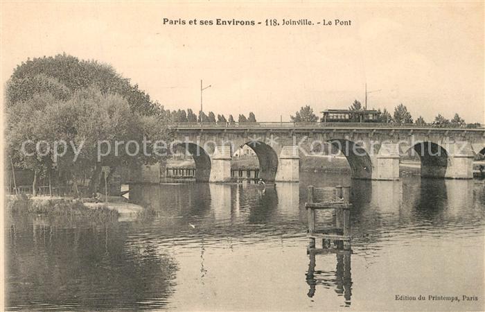 AK / Ansichtskarte Joinville le Pont Le Pont Collection Paris et ses environs Joinville le Pont
