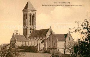 AK / Ansichtskarte Champagne sur Oise Eglise de l Assomption Champagne sur Oise