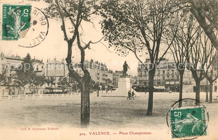 AK / Ansichtskarte Valence_Drome Place Championnet Valence_Drome