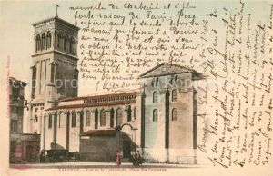 AK / Ansichtskarte Valence_Drome vue de la Cathedrale Place des Ormeaux Valence_Drome