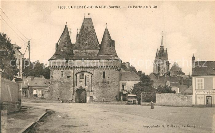 AK / Ansichtskarte La_Ferte Bernard La Port de Ville La_Ferte Bernard
