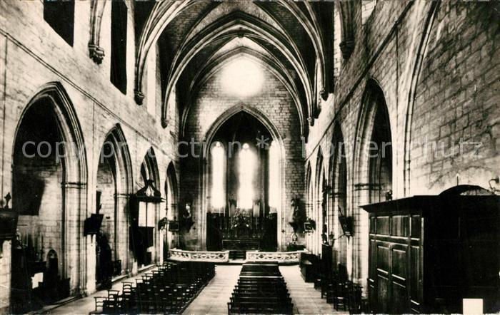 AK / Ansichtskarte Montfavet_Avignon Interieur de l'Eglise