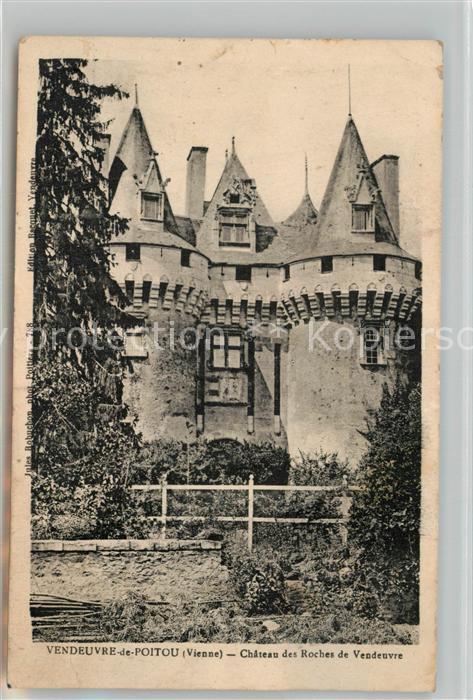 AK / Ansichtskarte Vendeuvre du Poitou Chateau des Roches de Vendeuvre Vendeuvre du Poitou
