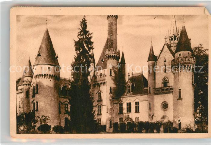 AK / Ansichtskarte Saint Bonnet de Bellac Chateau de Bagnac Saint Bonnet de Bellac