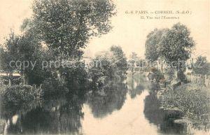 AK / Ansichtskarte Corbeil Essonnes Vue sur l Essonnes Corbeil Essonnes