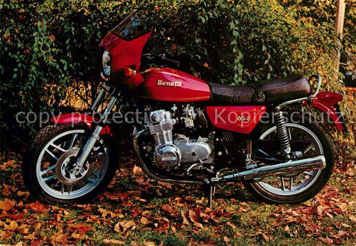 AK / Ansichtskarte Motorrad Benelli 654