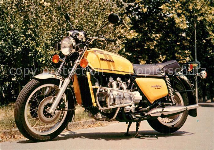 AK / Ansichtskarte Motorrad Honda GL 1000 Gold Wing