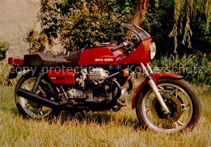 AK / Ansichtskarte Motorrad Guzzi 850 Le Mans