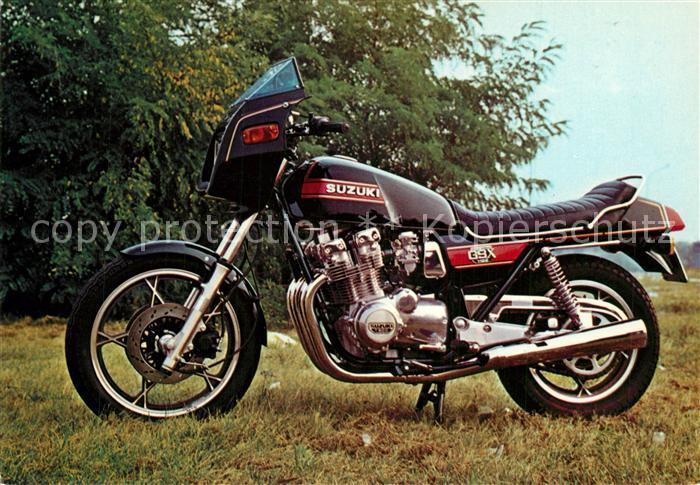 AK / Ansichtskarte Motorrad Suzuki GSX 1100