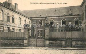 AK / Ansichtskarte Mamers_Sarthe Ecole superieure de jeunes filles Mamers Sarthe