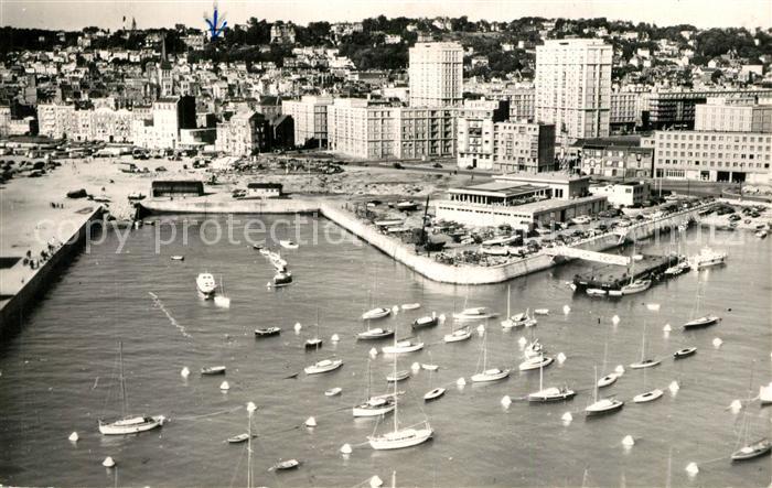 AK / Ansichtskarte Le_Havre Fliegeraufnahme Port des Yachts Le_Havre