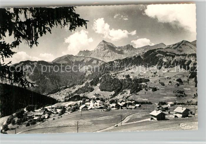 AK / Ansichtskarte Notre Dame de Bellecombe Vue panoramique Mont Charvin Alpes Francaises Notre Dame de Bellecombe