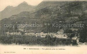 AK / Ansichtskarte Saint Sauveur des Landes Blick von Solferino Saint Sauveur des Landes