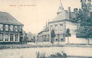 AK / Ansichtskarte Messines Rue des Remouleurs Messines