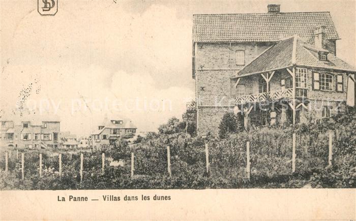 AK / Ansichtskarte La_Panne_Veurne Villas dans les dunes
