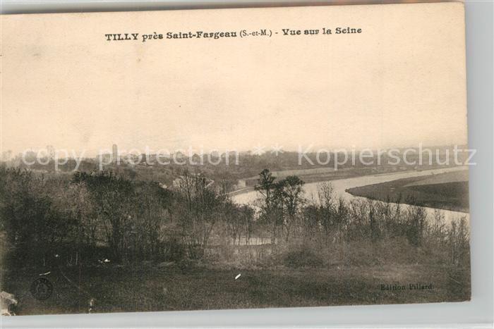 AK / Ansichtskarte Tilly_Saint Fargeau Ponthierry
