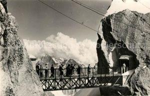 AK / Ansichtskarte Chamonix Le plus haut Teleferique du Monde Aiguille du Midi Alpes Francaises Chamonix