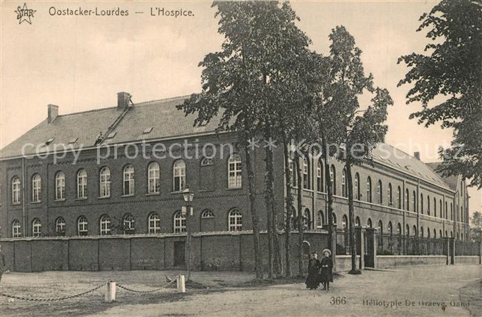 AK / Ansichtskarte Oostacker_Lourdes Hospice Oostacker_Lourdes
