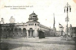 AK / Ansichtskarte Gand_Belgien Exposition Internationale de Gand 1913 La Section Francaise Gand Belgien