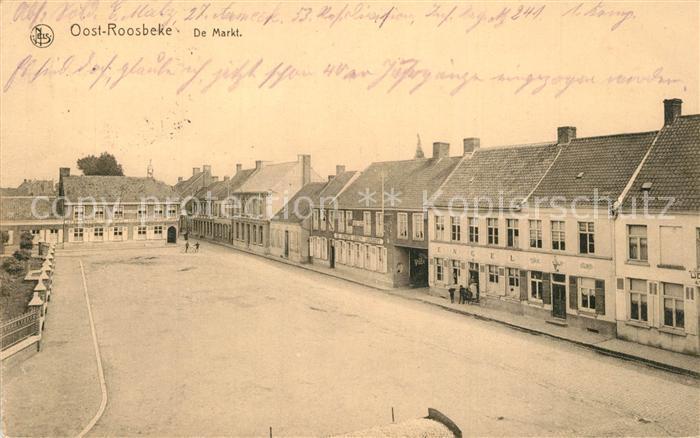 AK / Ansichtskarte Oost Roosbeke De Markt Oost Roosbeke