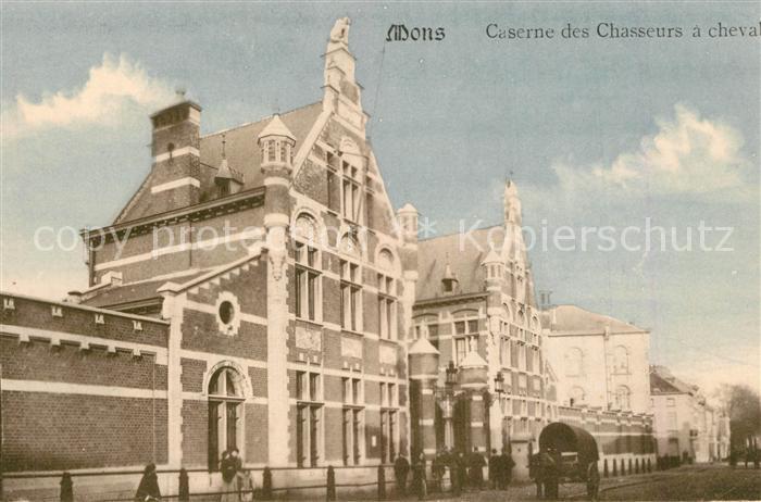 AK / Ansichtskarte Mons_Belgien Caserne des Chasseurs a cheval Mons Belgien