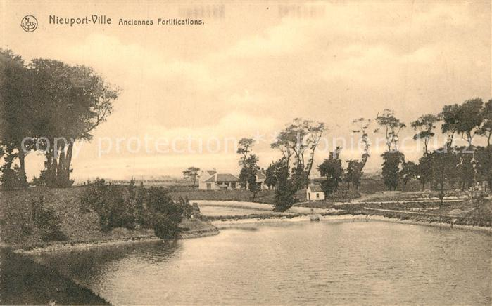 AK / Ansichtskarte Nieuport Ville Anciennes Fortifications Nieuport Ville