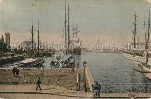 AK / Ansichtskarte Ostende_Oostende Le Bassin du Commerce