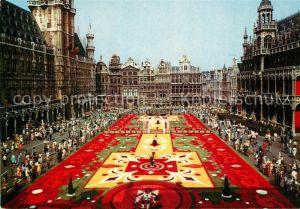 AK / Ansichtskarte Bruxelles_Bruessel Grand Place Tapis de Fleurs Bruxelles_Bruessel