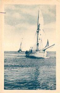 AK / Ansichtskarte Port la Nouvelle Depart pour la Peche Port la Nouvelle