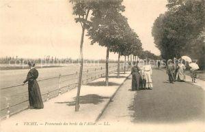 AK / Ansichtskarte Vichy_Allier Promenade des bords de l Allier Vichy Allier