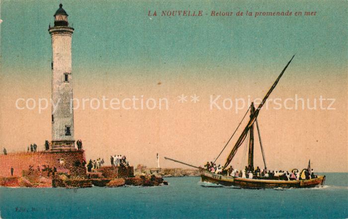AK / Ansichtskarte Port la Nouvelle Retour de la promenade en mer Port la Nouvelle