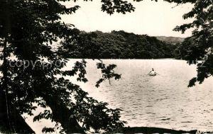 AK / Ansichtskarte La_Montagne_Noire Bassin de Lampy Canotage sur le Lac