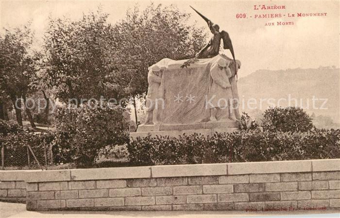 AK / Ansichtskarte Pamiers Le Monument aux Morts Pamiers