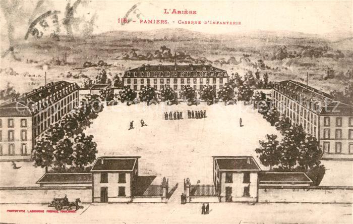 AK / Ansichtskarte Pamiers Caserne d Infanterie Pamiers